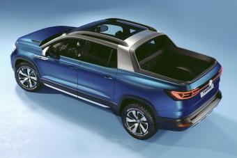 Személyautóból faragott pickupot a Volkswagen
