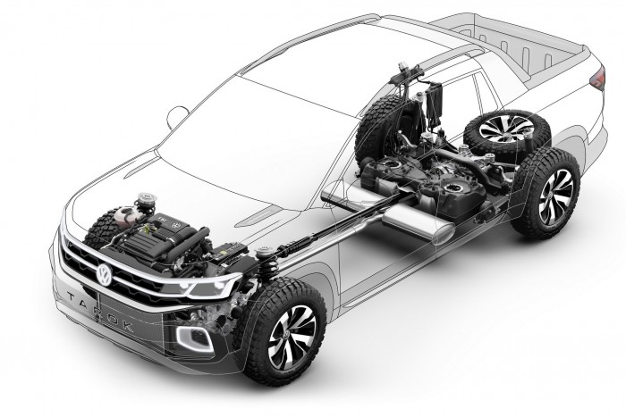 Személyautóból faragott pickupot a Volkswagen 5