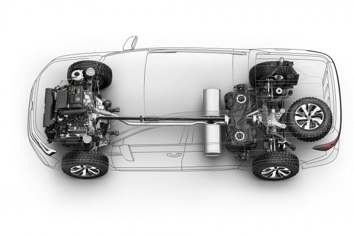 Személyautóból faragott pickupot a Volkswagen 3