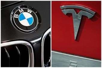 A Tesla lenyomta a BMW-t