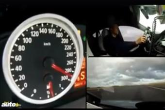 Ha megnézed ezt a néhány 0-300-as gyorsulást, a monitor előtt ülve is megszédülsz