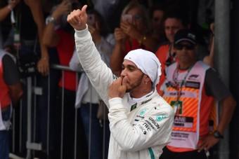 F1: Hamilton ezt most a szerencsének köszönhette