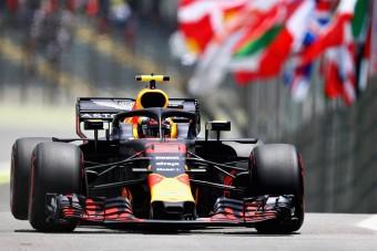 F1: Verstappené az első vér Brazíliában