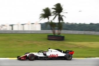 F1: Dupla pontszerzésnek örülhet a Haas