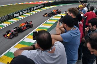 F1: Sao Paulóban megijedtek, már tepernek a futamért