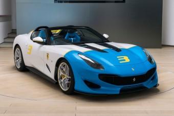 Páratlan roadstert alkotott a Ferrari