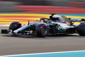 F1: Nagyot lépett előre új motorjával a Mercedes