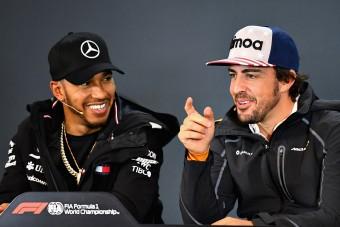 Hamilton: Ezért nincs Alonsónak több bajnoki címe