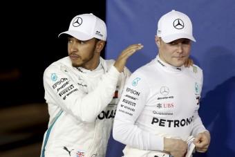 F1: Így zavarhatja meg Bottas Hamiltont