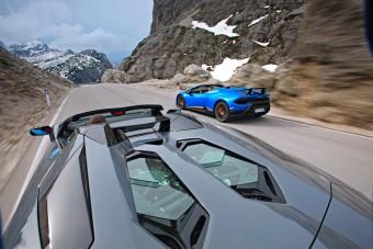 Élet a csúcson, Lamborghinikkel