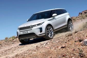 Hibrid rendszert kapott a legújabb Range Rover Evoque