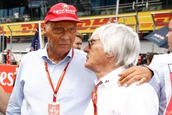 F1: Ecclestone nem lesz ott Lauda temetésén