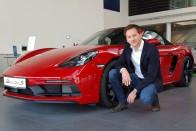 Videón Varga Péter, a Porsche magyar dizájnere 1