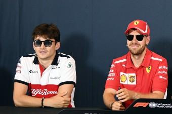F1: Leclerc izzadhat, mert amiben ő utolsó, abban Vettel mindenkit aláz