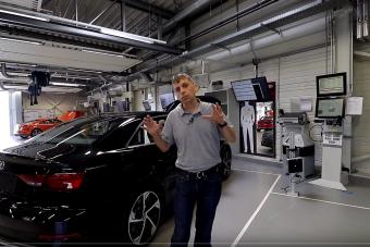 Így teszik próbára a magyar Audikat gyártás után