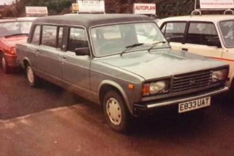 Ez az eredménye, ha angolok gyártanak elegáns limuzint Ladából