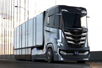 Elektromos és hidrogéncellás teherautókat fejleszt a Nikola és az Iveco