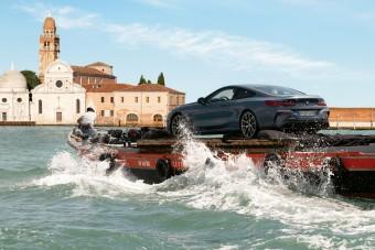 Velencében tették vízre az új 8-as BMW-t