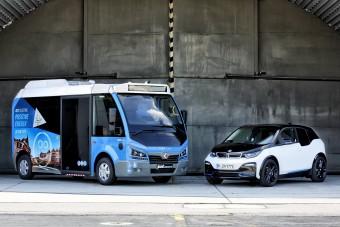 Városi busz készül BMW villanymotorral