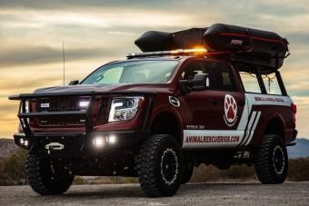 Állatmentő teherautót épít a Nissan