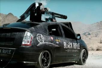 Pusztító fegyvert építettek egy Toyota Priusból