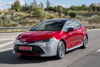 Exkluzív: már vezettük az új Toyota Corollát