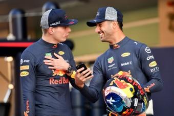 Ricciardo: Verstappen mellett nem lehetett lazítani