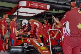 F1: Vettel verte a Merciket az utolsó edzésen