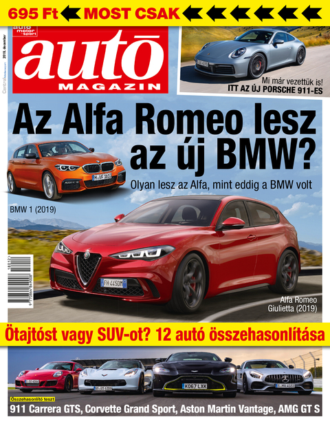 Autó Magazin 2018 december