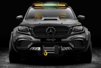 Förtelmes szörnyet építettek a Mercedes X-osztályból