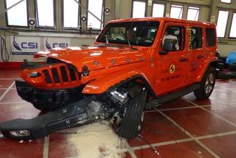 Leszerepelt a törésteszten az ikonikus Jeep terepjáró