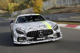 Gyorsabban ér körbe a Nürburgringen a legsportosabb Mercedes