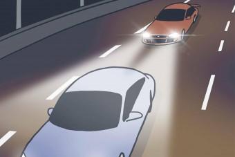 Ezt érdemelné minden türelmetlen autós, aki levillog másokat a belső sávban
