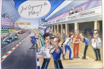 F1: Semmi különös, csak megy a szervezkedés!