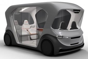 Önjáró üvegdobozkát fejleszt a Bosch