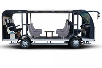 Napelemes önjáró busz készült