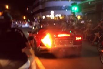 Ezért ne túráztasd a Lamborghinidet a pirosnál