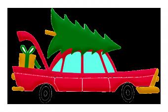 Karácsonyi történet: meglett az ellopott autó, a benne hagyott ajándékokkal együtt