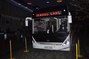 Ezt is megértük, kínai buszra került Ikarus felirat