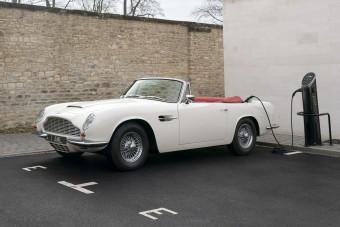 Villamosítja veterán modelljeit az Aston Martin