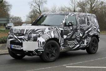 Jövőre jön az új Land Rover Defender!