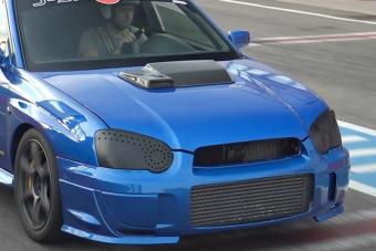 Subaru Impreza, szekvenciális váltó, 800 lóerő, kell még valami?