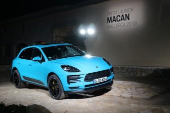 Dízel már nincs, hibrid még nincs a Porsche Macanból