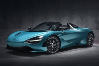 Roadsterként is elérhető a McLaren 720S