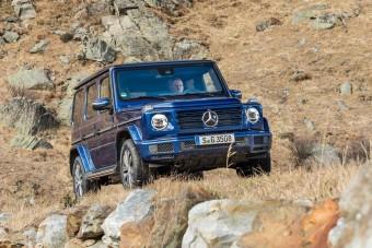 Tiszta dízelt kap a Mercedes ikonikus terepjárója