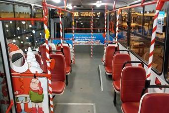 A fényvillamos után jön a Mikulásbusz Budapesten