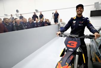 Ricciardo utolsó látogatása a Red Bullnál