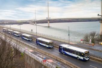 Önvezető buszflottát fognak közúton tesztelni
