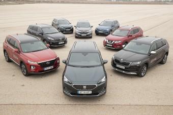 Hétszemélyes szabadidő-autók: melyik a legjobb?