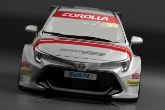 Versenyautót építenek a Toyota Corollából